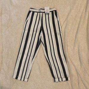 ASOS striped dress pant